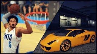 NBA 2K14 Next Gen My Career Cam Gets A Lamborghini