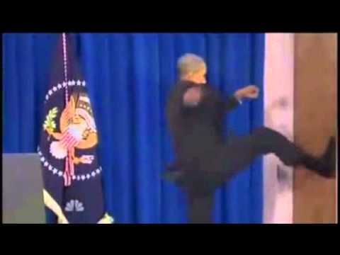 Obama Kicks Door Sparta Remix