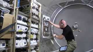 Delivering oxygen to the Space Station