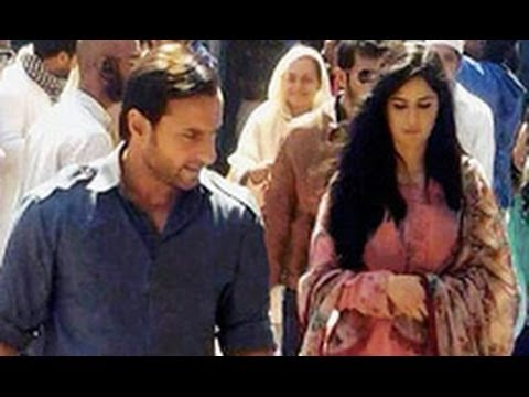 Checkout Handsome Saif Ali Khan & Beautiful Katrina in Desi Clothes for 'Phantom' | Hindi News |