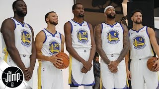 Tracy McGrady calls 2018-19 Warriors 'scary' | The Jump