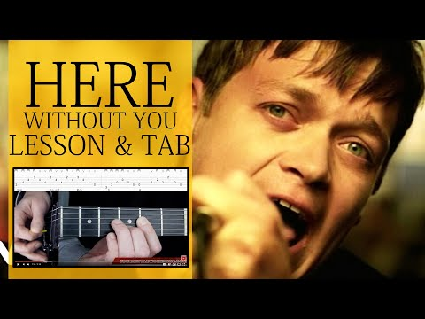 Guitar Lesson: Here Without You 1/3 - 3 Doors Down - How to play Intro&Verse