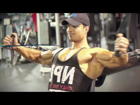 MUSCULATION PEC & EPAULES A LAS VEGAS | STRECHING CORPS COMPLET | BODYBUILDING MOTIVATION