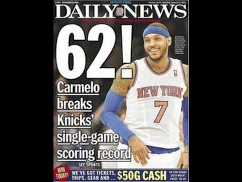 Carmelo 62 VS Lebron 61