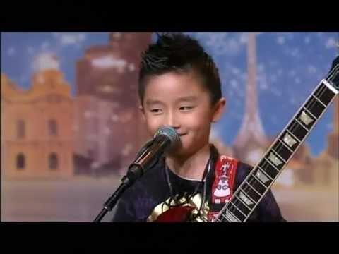 Jeremy Yong - Kid Guitarist - Australia's Got Talent 2012 audition 7 [FULL]