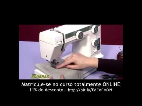Curso de Corte e Costura: Quer aprender as técnicas básicas  de costura? EDUBRAS online.