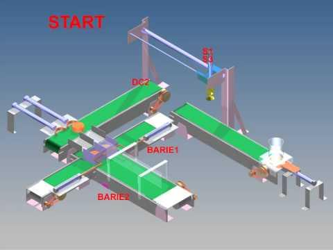 Mô hình thí nghiệm băng tải sử dụng PLC - Model for PLC - experiments