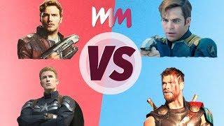 Chris Evans VS Chris Hemsworth VS Chris Pratt VS Chris Pine