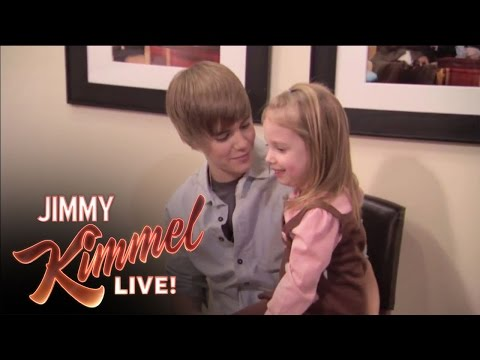 Jimmy Surprises Bieber Fan, Jimmy Kimmel Live - Jimmy Surprises Bieber Fan