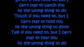 Doing It Wrong- Drake Ft (Stevie Wonder) *LYRICS*