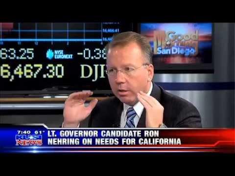 Ron Nehring on improving California's economy