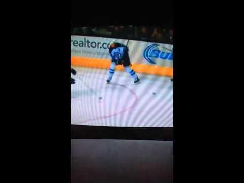 Winnipeg Jets vs San Jose Sharks 1/23/2014 part 7