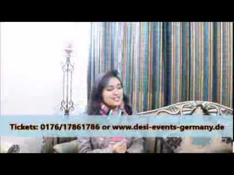 Aashiqui 2 Songs - 23.März Sara Raza Khan live in Concert Offenbach Cinemaxx Germany