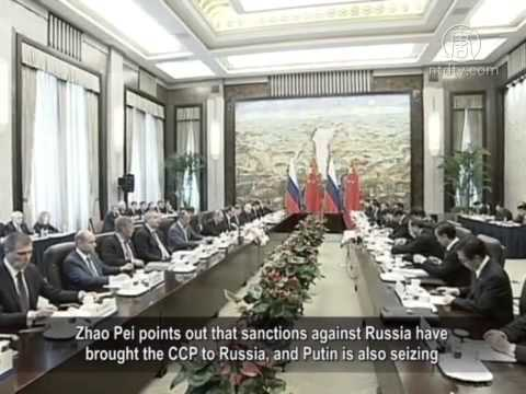 China And Russia Engage in Military Exercises