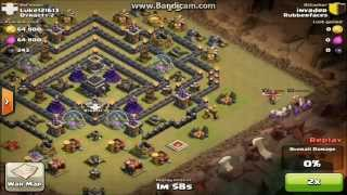 Clash Of Clans:TH9 Clan Wars Base Build!