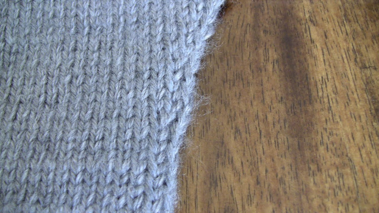 Reducing Stitches In Knitting : Increasing Stitches - Free Knitting Tutorials - Watch Knitting - YouTube