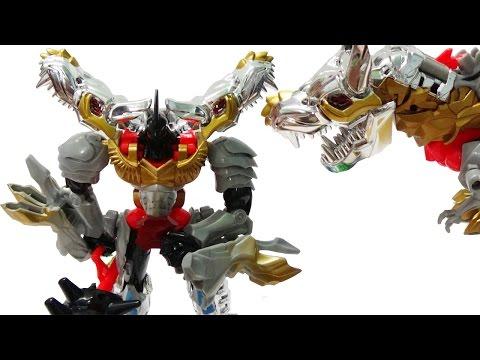 Lắp ráp robot siêu nhân khủng long biến hình - Robot Transformer