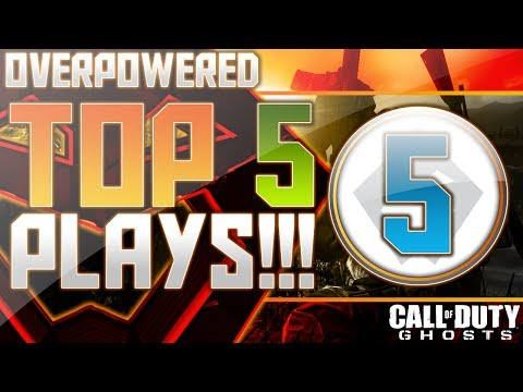 COD: Ghosts - Overpowered Top 5 Plays Week 5!