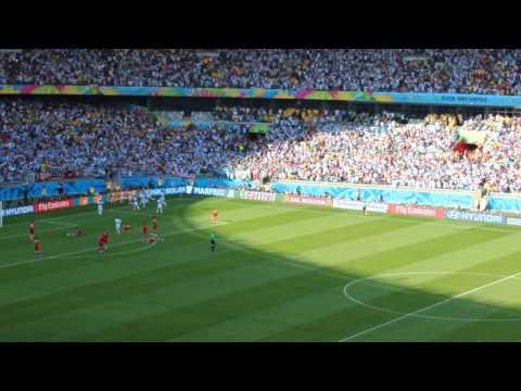 Argentina vs Iran 1-0 Goal: Lionel Messi- Report Bahman ایران 0-1 آرژانتین گل لیونل مسی گزارش بهمن