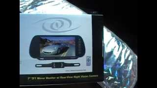 Unboxing And Installation Of Rear-view Camera Pyle View
