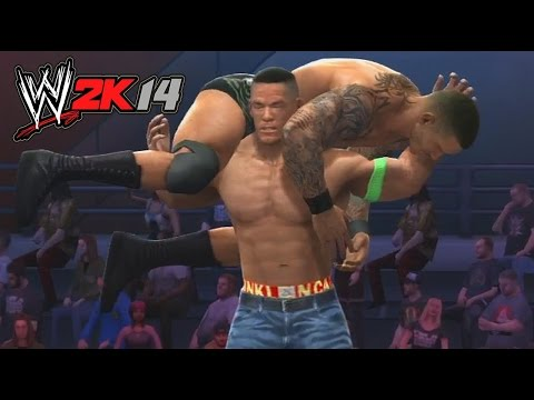 WWE 2K14 - Randy Orton vs John Cena Hell in a Cell Match