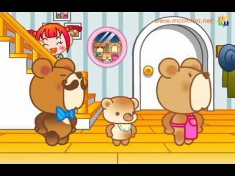 www.hoctienghan.kenh0.com Học tiếng Hàn Quốc qua bài hát Ba con gấu