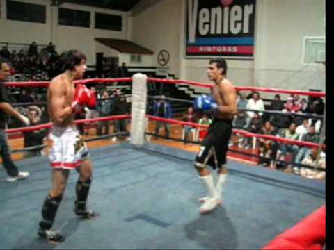 Pelea de Kick Boxing 2k9 MAX 64kg - Hernandez Javier - UIAMA ESKBT