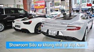 Showroom siêu xe khủng nhất Việt Nam