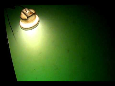Night crappie fishing video youtube for Fishing light attractor