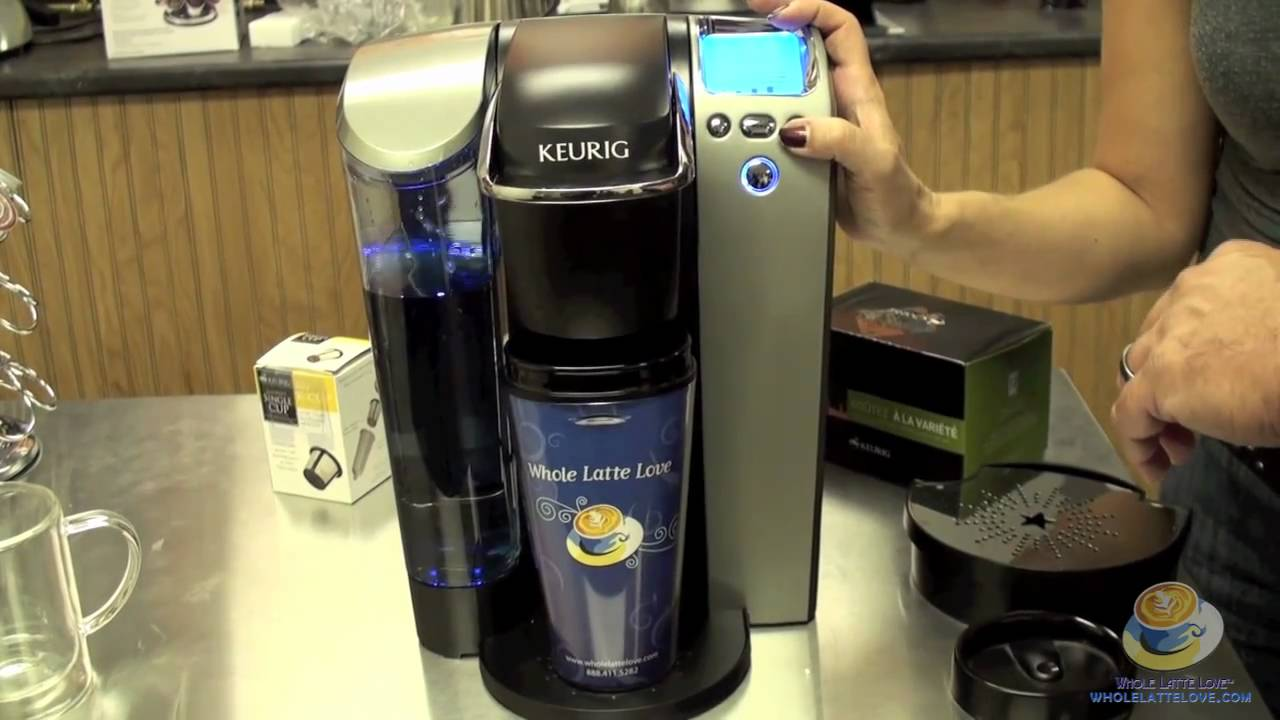 Keurig Platinum B70 K Cup Brewer Unboxing And