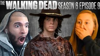 """The Walking Dead: Carl """"No Way Out"""" Fan Reaction Compilation"""