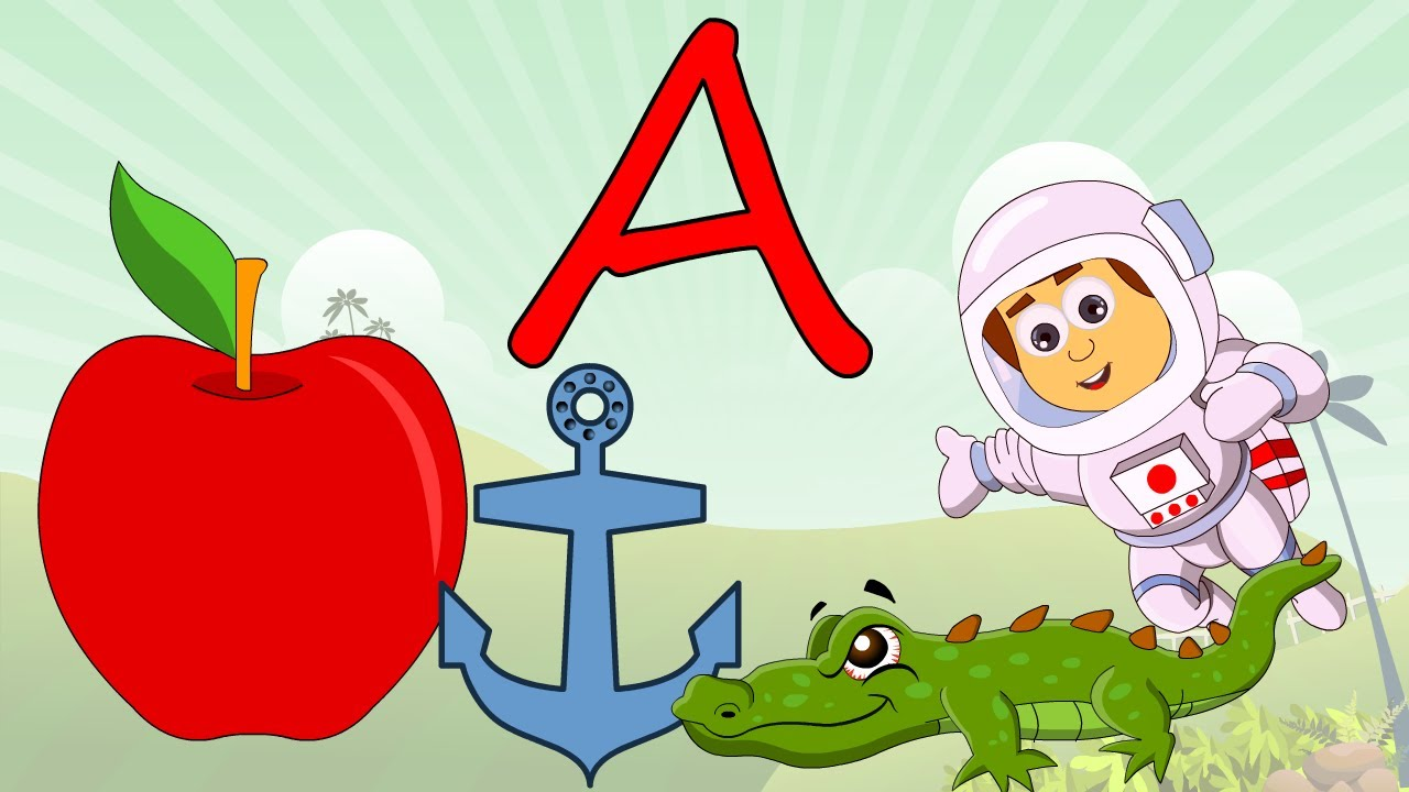 Phonics - Learn About The Letter A - Preschool Activity
