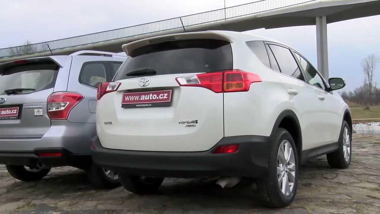 Subaru Forester vs Toyota RAV4 - 2013 - YouTube