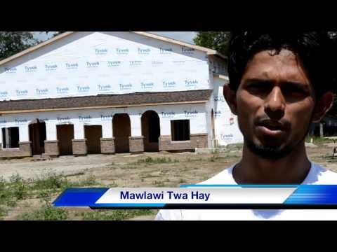 MyanmarMuslim Masjid Construction Project,Fort Wayne,USA