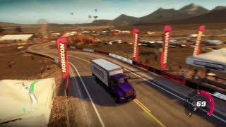 FORZA HORIZON MOD DRIVING TRAFFIC CARS (TOUR BUS, SEMI