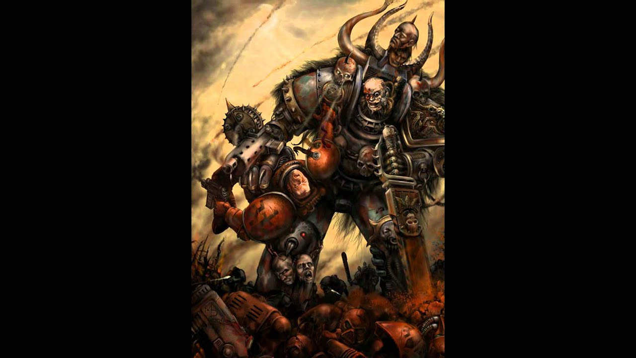 chaos space marines tactics