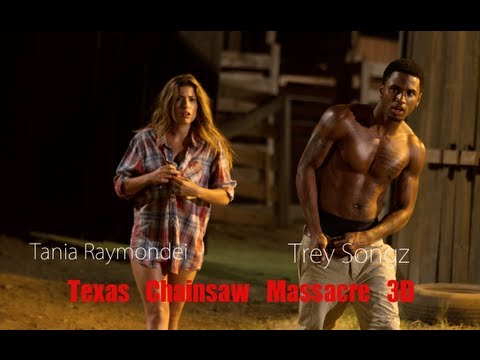 Trey Songz does scary movie 'his way'   Texas Chainsaw 3D Tre Songz & Alexandra Daddario Interview