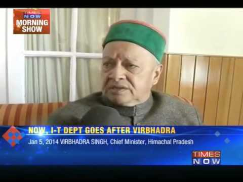 Trouble mounts for Himachal Chief Minister Virbhadra Singh