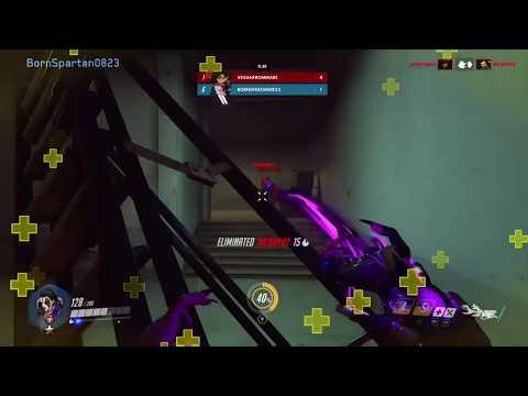 8-PLAYER FFA Overwatch (Moira Gameplay)