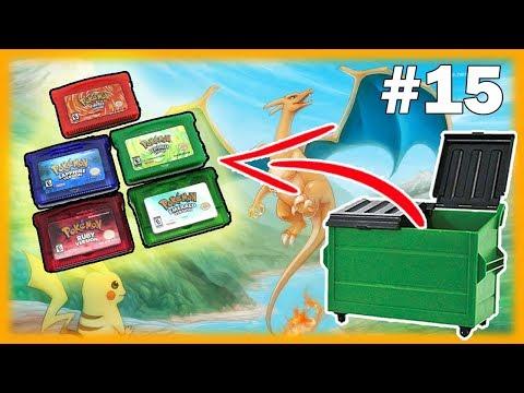 VINTAGE POKEMON GAMES! GameStop Dumpster Diving Jackpot! GameStop Dumpster Diving Best Finds!