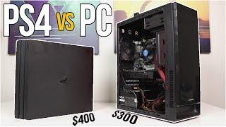 $300 Gaming PC vs PS4 PRO! - The Ultimate Showdown - VOLT PT. 3