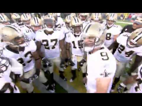 Drew Brees 2011 Saints Pregame Chant