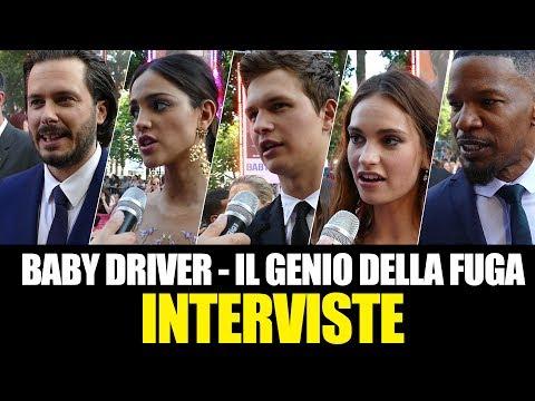 Baby Driver - La premiere con il red carpet a Londra | INTERVISTE