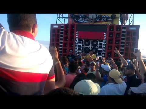 RACHA PAREDÃO MALVADO VS PAREDÃO TICO SOM - CAMPEONATO EM FORTALEZA - 08/06/2014 PT1