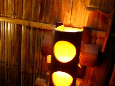 Muebles y artesanias en bambu youtube - Muebles de bambu ...