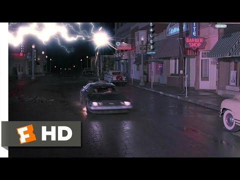 Back to the Future (10/10) Movie CLIP - Back to the Future (1985) HD, Back to the Future Movie Clip - watch all clips http://j.mp/wZhriW click to subscribe http://j.mp/sNDUs5 Doc (Christophe Lloyd) risks life and limb to get Ma...