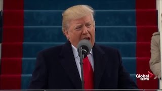 Donald Trump full inaugural address as 45th President of United States