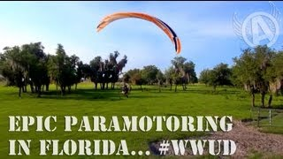INTENSE Paramotor Flying With Friends #WWUD