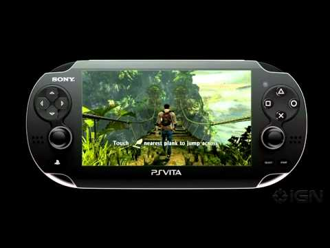 Uncharted: Golden Abyss - E3 2011: IGN Live Gameplay