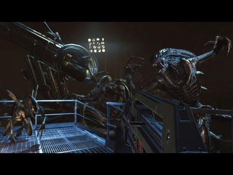 Aliens: Colonial Marines PC Gameplay - COD in Space!
